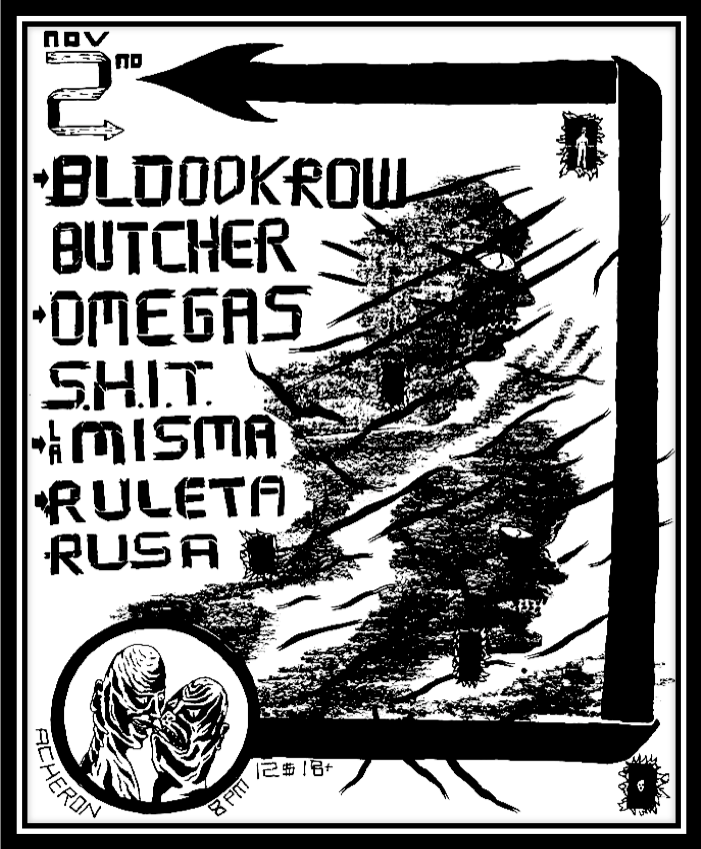 BLOODKROW BUTCHER FLYER