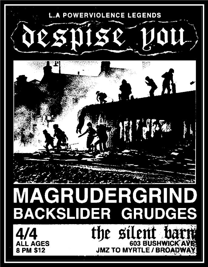 magrudergrind poster