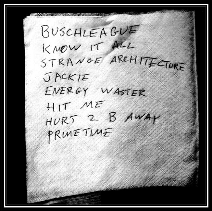 cold fronts setlist