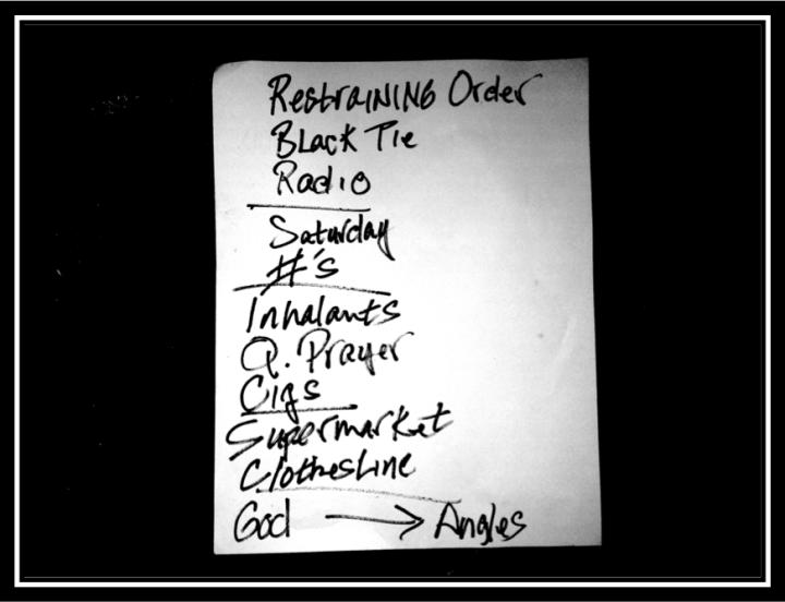 drowningman setlist